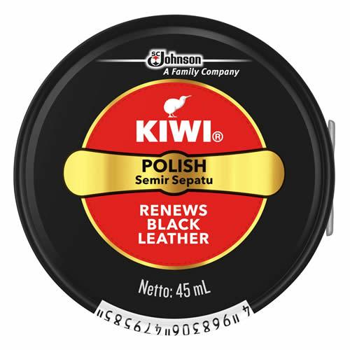 【送料込】キィウイ KIWI 油性靴クリーム缶入 ブラック 45ml ( 靴のケア 保革剤 ) ×144点セット まとめ買い特価!ケース販売 ( 4968306479585 )