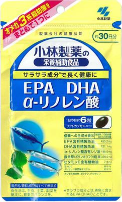 【送料無料・まとめ買い×10】小林製薬 EPA DHAα-リノレン酸 180粒
