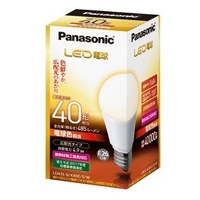 【送料無料・まとめ買い×10】パナソニック LED電球 ( 広配光タイプ ) LDA5LGK40ESW ( 1個 ) ×10点セット ( 4549077465344 )