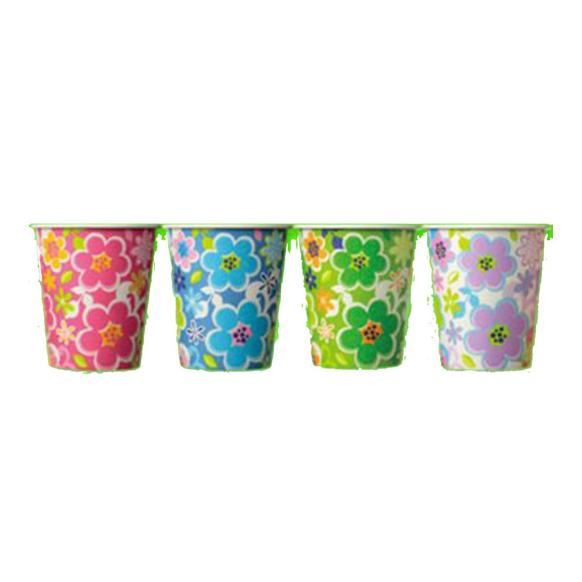 【120個で送料無料】日本デキシー キュンキュンフルールカップ 205ML ( 内容量: 15個 ) ×120点セット ( 4902172100990 )