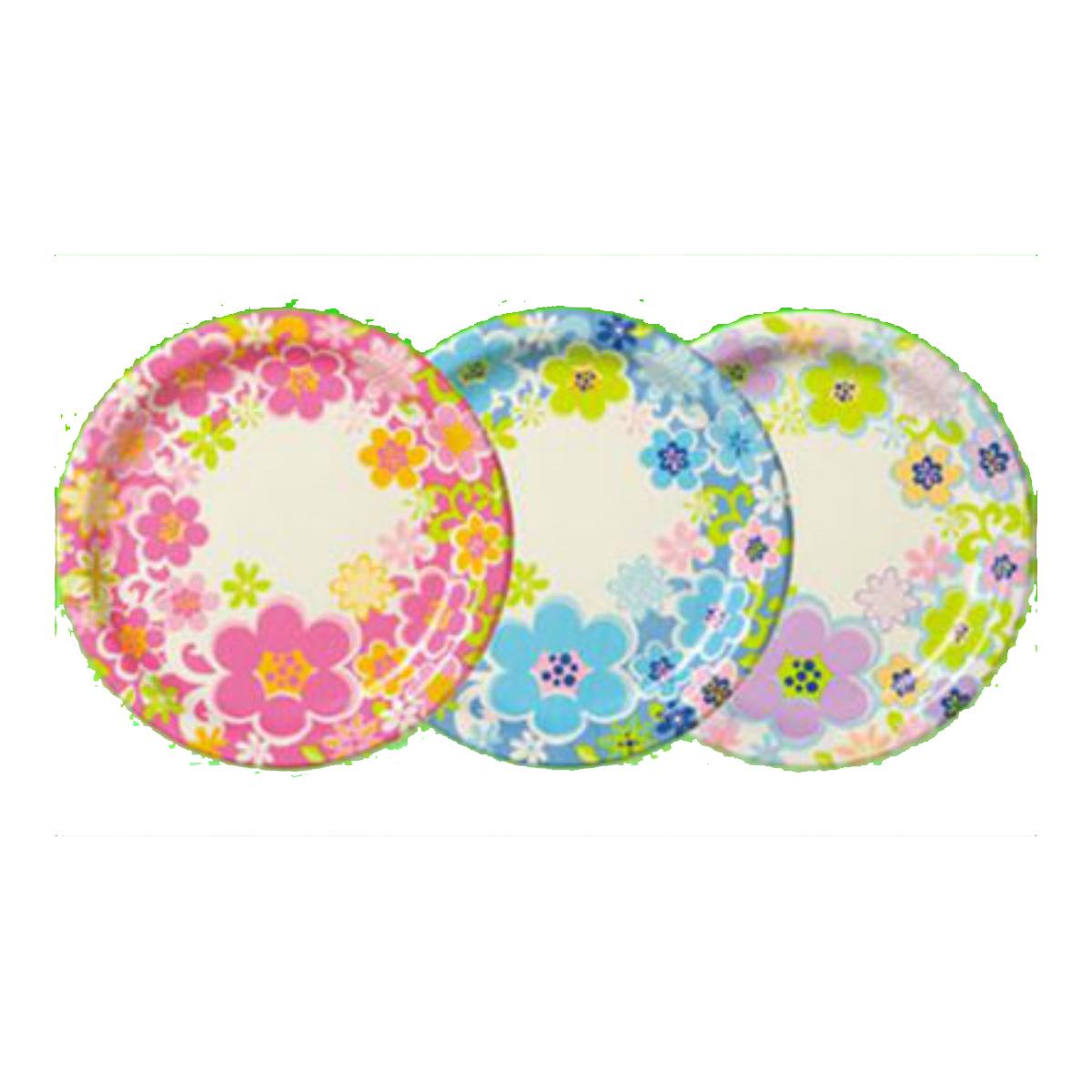 日本デキシー キュンキュンフルールスーパープレート 好評 日本限定 17cm 内容量: 使い捨て皿 8枚 4902172301090