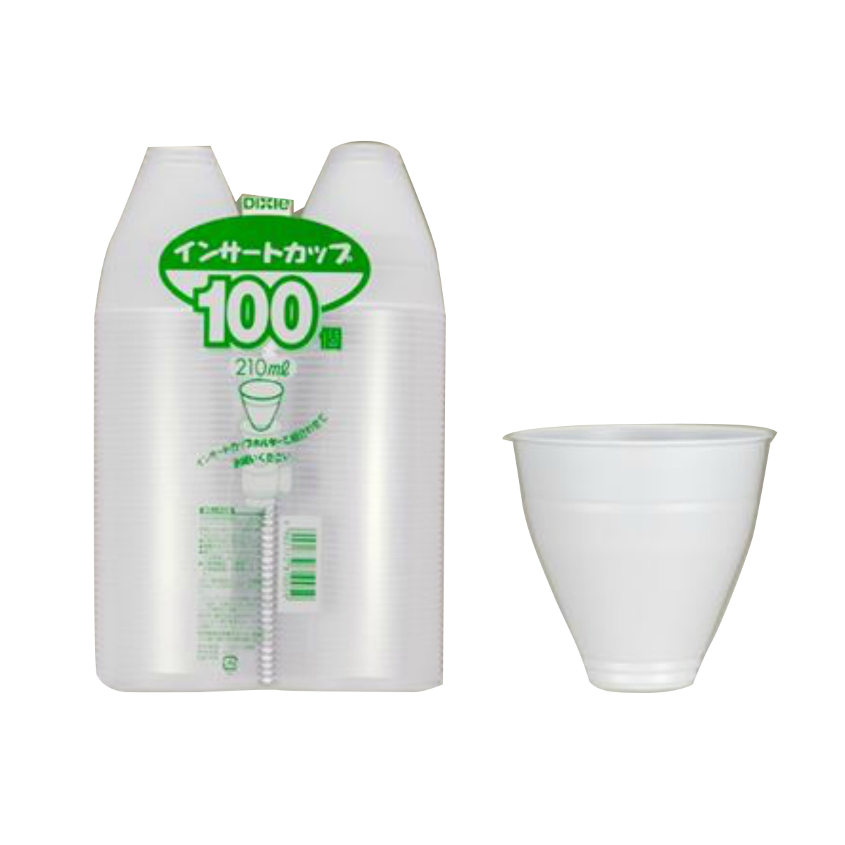 飲料用容器として製造されたプラスチックカップ 飲料用容器として製造された簡易コップです インサートコーヒーカップ F型 日本デキシー インサートカップ 100個入り ☆送料無料☆ 当日発送可能 コーヒーカップ 5☆大好評 4902172810059 使い捨てコップ