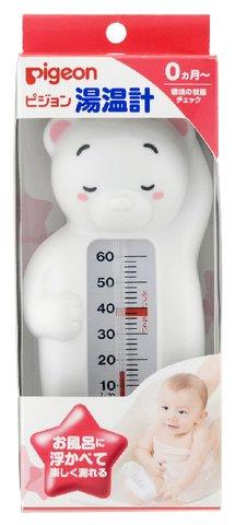 【送料無料・まとめ買い×040】ピジョン 湯温計 しろくま 適温表示付 ×040点セット(4902508102315)