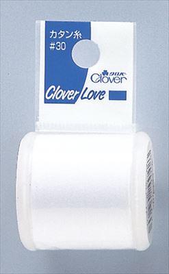 【送料無料・まとめ買い×800】クロバー 裁縫用 カタン糸 30 白 ( CL77720 ) 200m×800点セット(49304008)