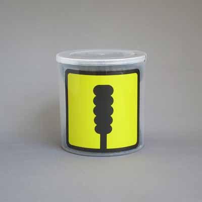 【100個で送料込】平和メディク 綿棒ブラックケース ( 内容量:200本 ) UD ( ユニバーサルデザイン ) ×100点セット ( 4976558005674 )