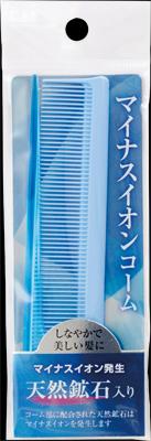 【送料無料・まとめ買い×480】KQ3009 マイナスイオン セットコーム 折りたたみ  ×480点セット(4901601282481)