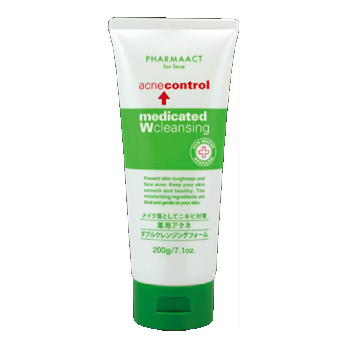 Pharma Act medicated acne W cleansing foam (4513574021396)