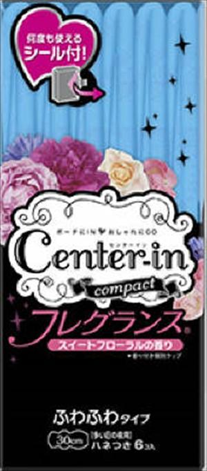 【送料込】【ユニ・チャーム ( ユニチャーム ) 】【Center IN】センターインコンパクト フレグランススイート多い日夜用 6枚【6マイ】×60点セット まとめ買い特価!ケース販売 ( 4903111361991 )