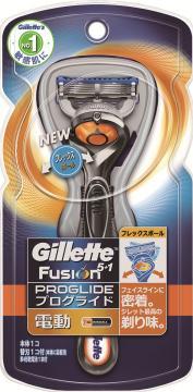 【36個で送料込】P&G ジレット プログライド フレックスボール パワー ホルダー 替刃1個付 ( 7702018353231 ) ×36点セット ( 7702018353231 )