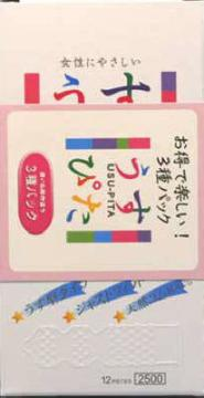 【送料無料・まとめ買い×10】ジャパンメディカル うすぴた 3種アソート 12個入り×3箱 ( 計36枚 ) ( コンドーム ) ×10点セット ( 4517739000660 )