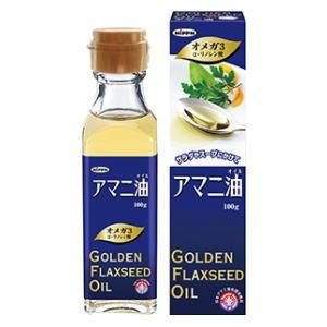 日本製粉 食用アマニ油 100g ×24個セット ( Golden Flaxseed 亜麻仁油 フラックスオイル ) 4902170701243 )