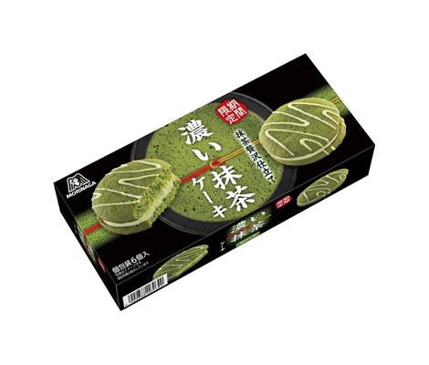 Morinaga confectionery dark green tea cake 6 x 30 pieces