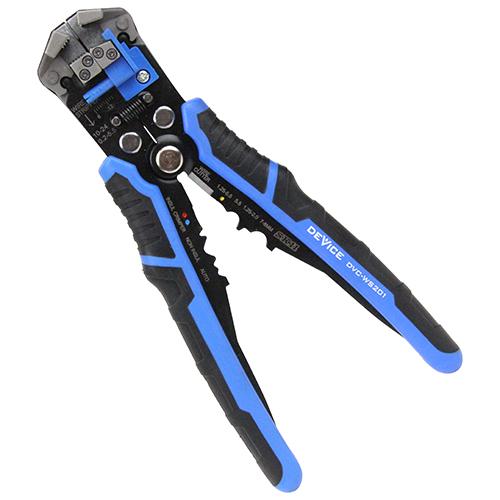 ハンドルを握るだけで簡単に電線被覆の剥離作業可能 4977292278331 SK11 贈り物 オートワイヤーストリッパー DVC-WS201 引き出物