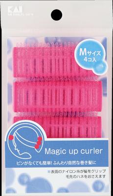 【送料無料・まとめ買い×120】貝印 マジックアップカーラー M HL-0172×120点セット(4901601277999)