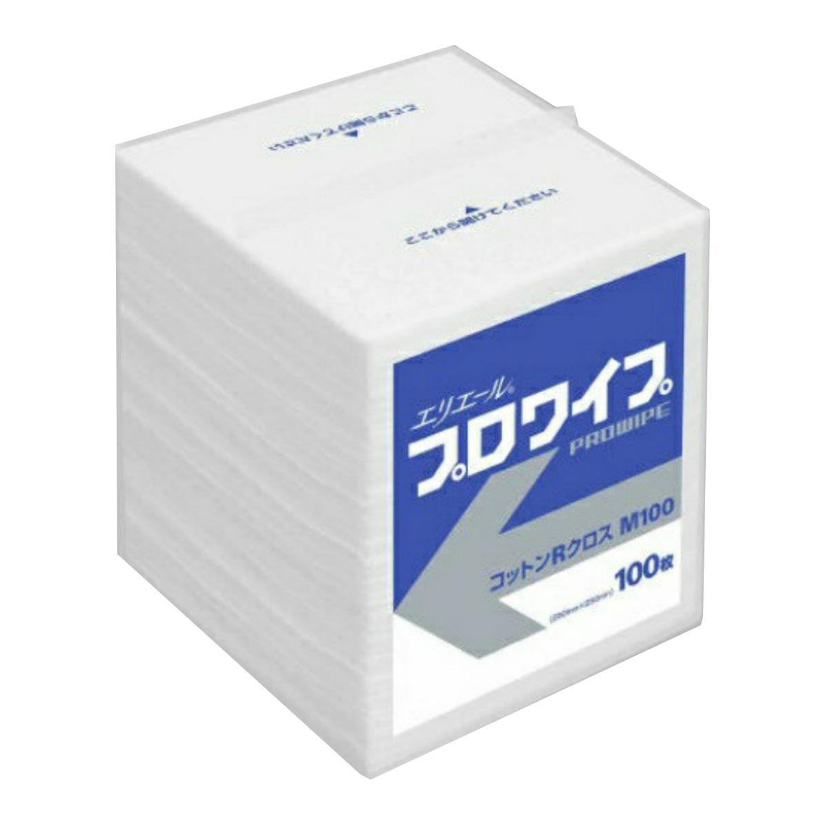 【送料無料・まとめ買い×30】エリエール プロワイプ コットン R クロス M 100枚入り×30点セット (4902011622218)