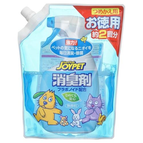 約翰遜喬伊寵物JOYPET液體消味劑指甲買,供事情德使用的650ml巨大包*12分安排(寵物用品消味劑最終階段替換)(4973293002432)