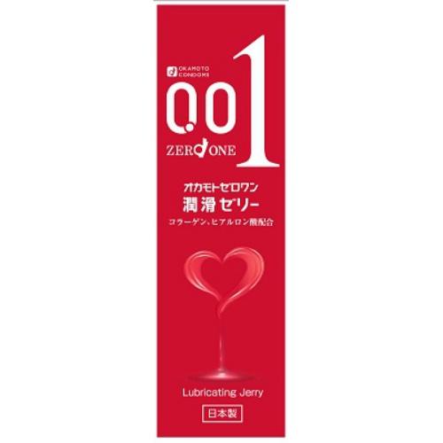 【100個で送料無料】オカモト ゼロワン 潤滑ゼリー 50g ×100点セット 日本製 無臭・無色透明( 4547691764744 )