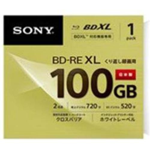 【60個で送料込】ソニー 録画用100GB 3層 2倍速 BD-RE XL書換え型 ブルーレイディスク 1枚入り BNE3VCPJ2×60点セット ( 4548736007727 )