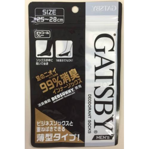 GATSBY インナーソックス 25-28cm チャコ×50個セット ( 4549368339194 )