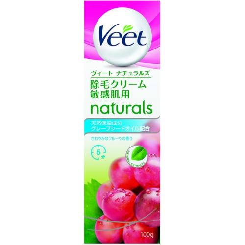 비트( veet ) 나츄라르즈 제모 크림 민감기용 100 g ( 4906156037203 )