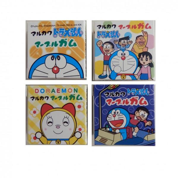 丸川 제과 도라에몽 마블 껌 4 립 × 24 개 세트 (과자 ・ 식품 ・ 껌) (49416640)