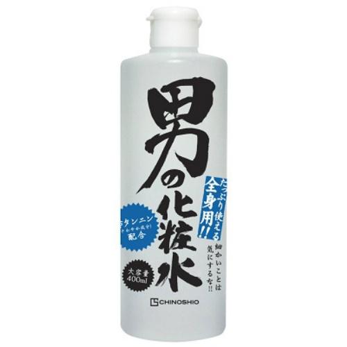 【24個で送料無料】ちのしお社 男の化粧水 ( 内容量:400mL ) ×24点セット ( 4982757916499 )