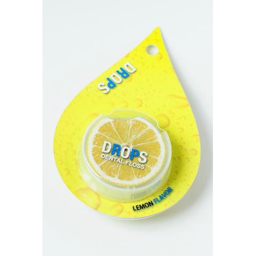 【配送おまかせ・送料込】岡村 ドロップス レモン(50M)【歯垢を落とす】
