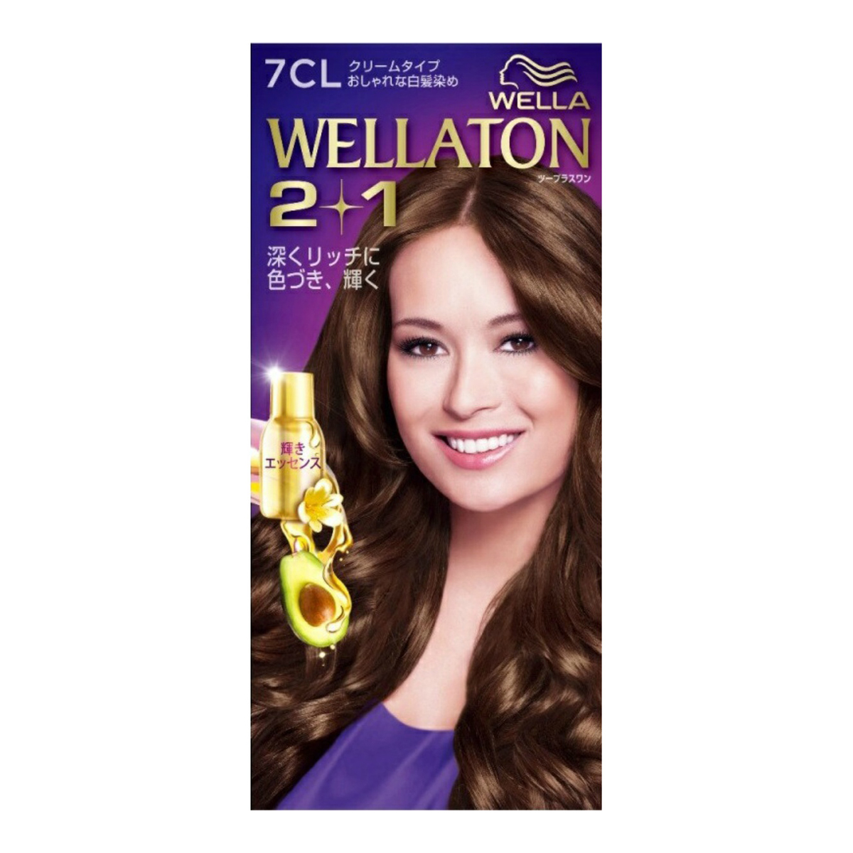 『どこを見られても、リッチな髪色』 ウエラトーン ツープラスワン ( 2+1 ) クリーム 7CL ( 女性用白髪染め ) ( 4056800251117 )