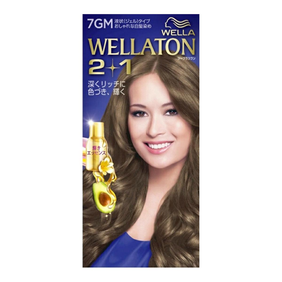 【送料無料・まとめ買い×10】ウエラトーン ツープラスワン ( 2+1 ) 液状タイプ 7GM ( 女性用白髪染め ) ×10点セット ( 4056800251315 )