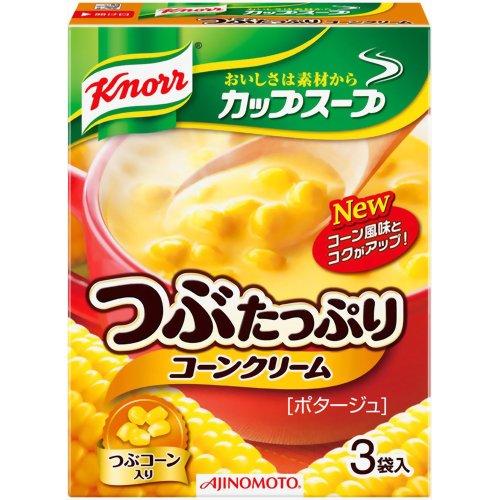 【送料込】クノール カップスープ つぶたっぷりコーンクリーム 3袋入×60個セット ( 4901001135769 ) ( インスタント食品 )