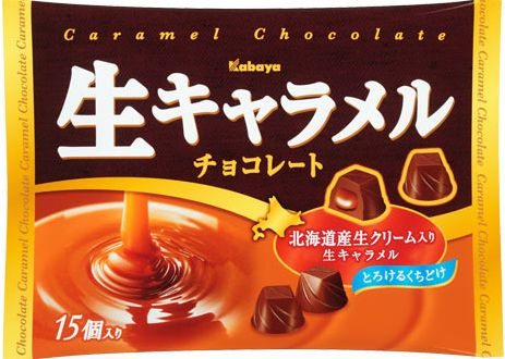 매진 カバヤ 식품 생 카라멜 초콜릿 15 개 入 × 12 자루 세트 (사탕 초콜릿) (4901550370178)