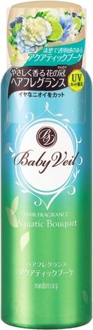 人気ブランド多数対象 髪揺れるたびやさしい香りに包まれるヘアフレグランスシリーズ 36個で送料込 マンダム 海外輸入 ベビーベール ヘアフレグランス 80g 4902806435245 ×36点セット アクアティックブーケ