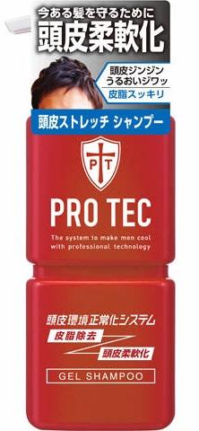 皮脂除去と柔らかな頭皮を持続させるシャンプー うるおい成分配合により 頭皮にうるおいを与え 頭皮を柔らかくするシャンプーです ヘアケア 日用雑貨 シャンプー ライオン PRO 頭皮ストレッチ 4903301231172 TEC プロテク 卸売り ポンプ 300g 期間限定で特別価格