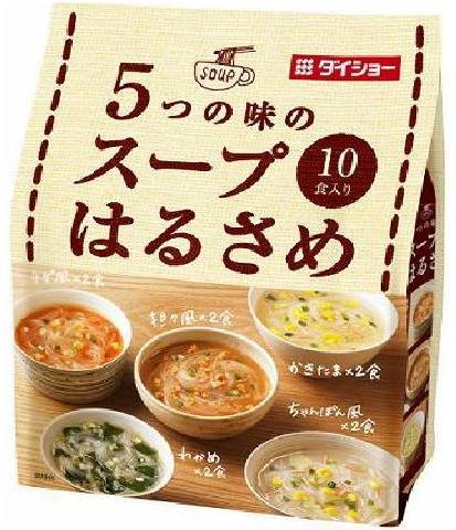 Daisho 5 taste soup vermicelli × 10 pieces (4904621070274)
