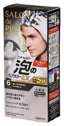 【30個で送料無料】サロンドプロ 泡のヘアカラーEX メンズ 6×30点セット ( 4904651182435 )