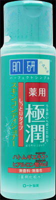 【送料込】ロート製薬 ハダラボ 肌研 薬用極潤スキンコンディショナー しっとりタイプ 170mL ×48点セット 医薬部外品 ( 4987241143382 )