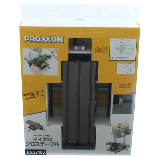 プロクソン マイクロクロステーブル No.27100(1台)