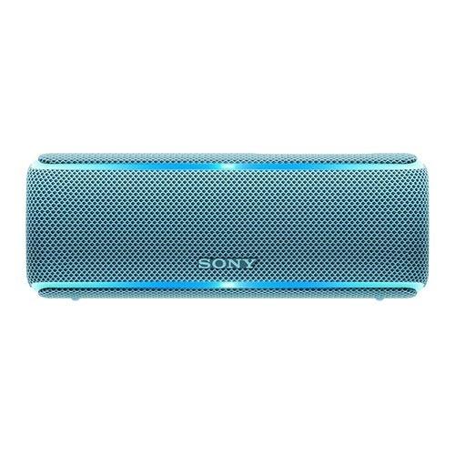ソニー ワイヤレスポータブルスピーカー SRS-XB21 LC ブルー(1台)