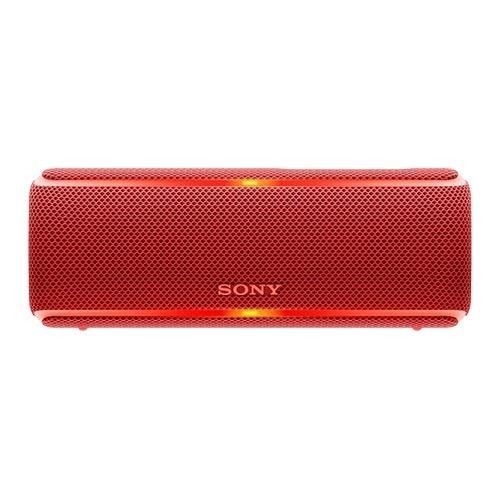 ソニー ワイヤレスポータブルスピーカー SRS-XB21 RC レッド(1台)
