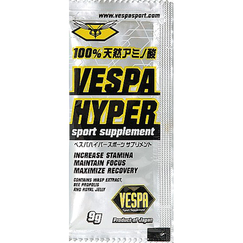 【送料込】ベスパインターナショナル VESPA HYPER sport supplement(べスパハイパースポーツサプリメント) 9g×12袋:姫路流通センター