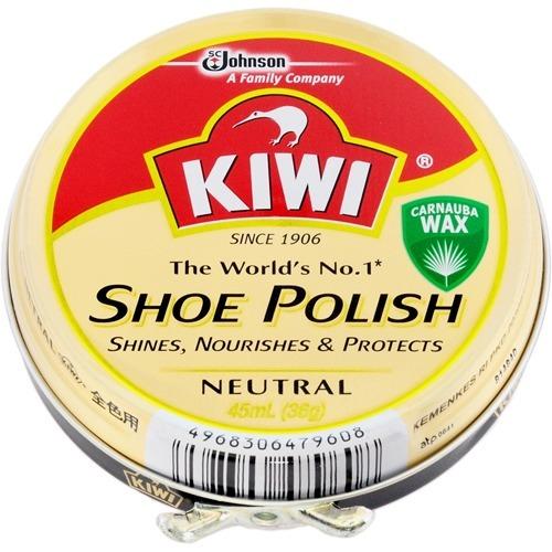 【送料込】ジョンソン キィウィ KIWI 油性靴クリーム 全色用(無色) 45ML×144点セット ( 4968306479608 )