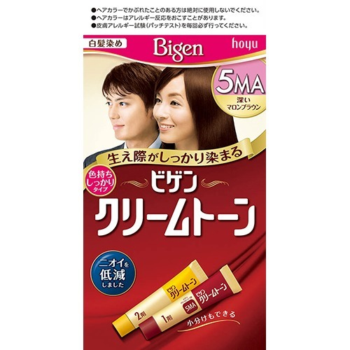 【送料込】ホーユー ビゲン クリームトーン 5MA×54点セット まとめ買い特価!ケース販売 ( 4987205081705 )