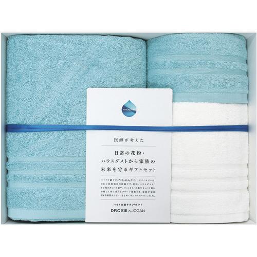 成願 DR.C ハイドロ銀チタン(R) タオル 健康用 ギフトセット ブルー JDR-KEN 07 BL 1セット