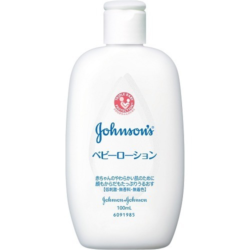【48個で送料無料】ジョンソン&ジョンソン ジョンソンベビーローション無香料100ML ×48点セット ( 4901730140980 )