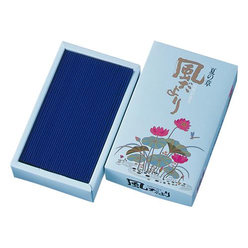 【受注生産品】 【まとめ買い×005】日本香堂 お線香 「 風だより 夏の章 」×005点セット(4902125276000), Strawberry Jam fe0bc9c3