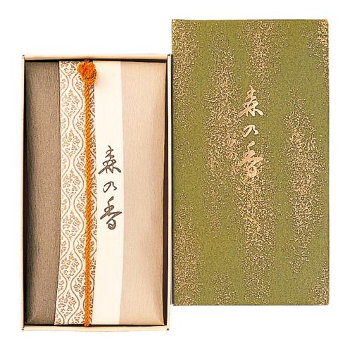 【送料無料・まとめ買い×072】日本香堂 お香 インセンス 「森の香 ひのき コーン型24個入」×072点セット(4902125570054)