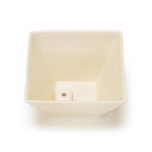 【送料無料・まとめ買い×072】日本香堂 縁 香器 白磁色お香用品 香皿・香炉)×072点セット(4902125750173)