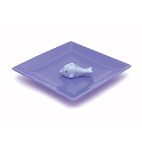 【送料無料・まとめ買い×040】陶器香皿&イルカ香立 ×040点セット(4902125975378)