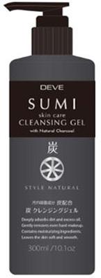 Kumano yushi DEVE (DIB) charcoal cleansing gel (contents: 300 ML) (4513574025325)