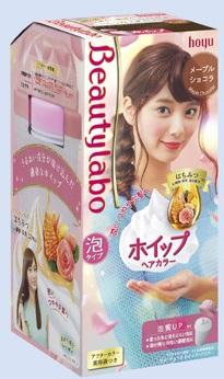 【24個で送料無料】ホーユー BeautyLabo ( ビューティラボ ) ホイップヘアカラー メープルショコラ ( 内容量:125ml ) ×24点セット ( 4987205310546 )